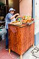 Puesto de comida, calle Jirón Ancash, Lima, Perú, 2015-07-28, DD 79.JPG