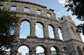 Pula Arena, Roman Amphitheatre, Colonia Pietas Iulia Pola Pollentia Herculanea, Histria (10384269305).jpg