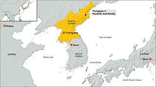 Punggye-ri Place in North Hamgyong Province, North Korea