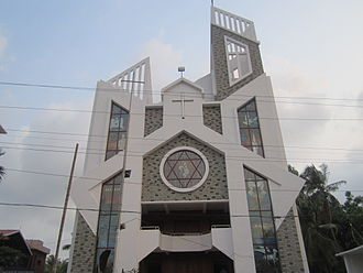 Punkunnam - Punkunnam Church, Thrissur.