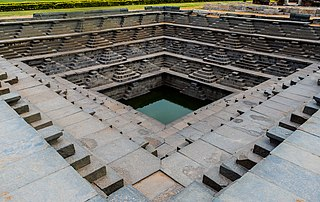 Pushkarani step wells at Hampi.jpg