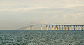 Pylons escaping the Sunshine Skyway Bridge fog.jpg