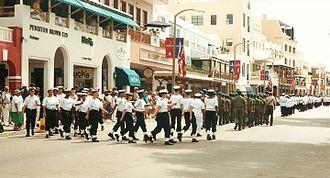 Bermuda Sea Cadet Corps - Queen's Birthday Parade, Hamilton Bermuda 2000