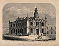 Queen Adelaide's Dispensary, Bethnal Green. Wood engraving b Wellcome V0012884.jpg