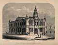 Queen Adelaide's Dispensary, Bethnal Green. Wood engraving b Wellcome V0012884.jpg