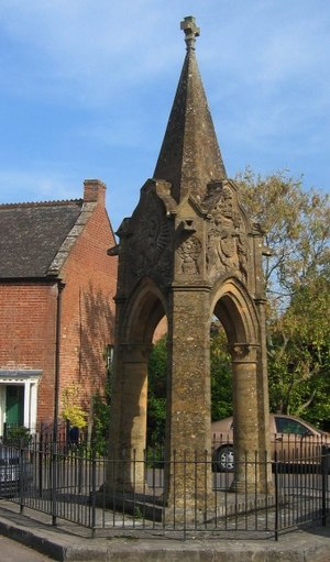North Curry - Image: Queen Victoria Diamond Jubilee memorial, North Curry, Somerset