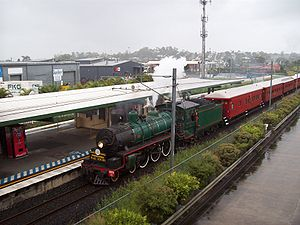 Walkers Limited - Preserved Queensland BB18¼ class at Enoggera in April 2009