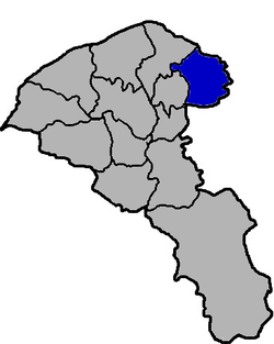 Location of Guishan