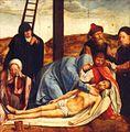 Quentin Metsys - Lamento ao pé da cruz - século XVI.jpg