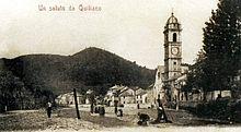 Panorama ottocentesco di Quiliano