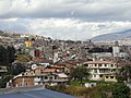 Quito. to the left of the El Panecillo, Ecuador, pic.a2, looking to the South of the City, Quito.jpg
