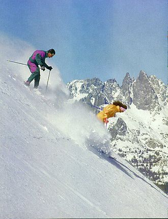 Mammoth Mountain Ski Area - Image: RIDGE