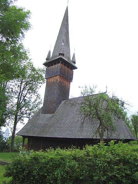 Fișier:RO MM Costeni St Nicholas wooden church 14.jpg