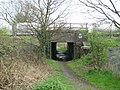 Radlett, Accommodation bridge under the railway - geograph.org.uk - 1266435.jpg