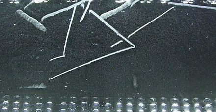 Radon-220 decay in a cloud chamber