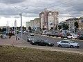 Radyjaĺnaja street and Partyzanski avenue (Minsk, Belarus).jpg