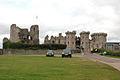 Raglan Castle from the south - geograph.org.uk - 1531258.jpg