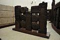 Railing - 2nd Century BCE - Red Sand Stone - Bharhut Stupa - Madhya Pradesh - Indian Museum - Kolkata 2012-11-16 1829.JPG