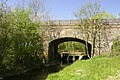 Railway bridge (disused) and road bridge over Claydon Brook - geograph.org.uk - 405853.jpg