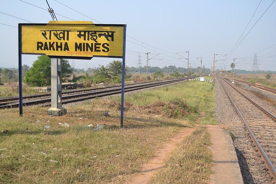 Rakha mines Railway