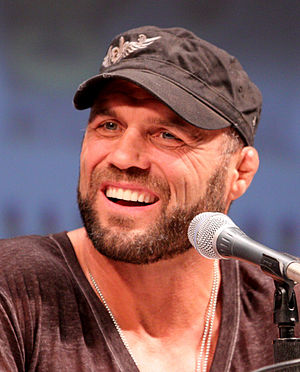 Randy Couture - Couture at the San Diego Comic-Con International, July 2010