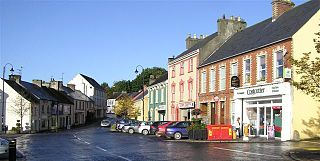Raphoe Town in Ulster, Ireland