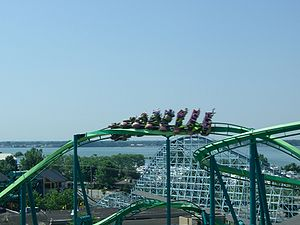 Raptor, Cedar Point, Sandusky, Ohio, USA.