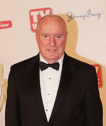 Ray Meagher (Alf Stewart) is currently the only remaining original cast member in Home and Away. Ray Meagher.jpg