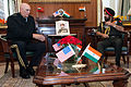 Raymond T. Odierno speaks with Bikram Singh in New Delhi.jpg