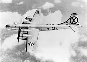 91st Cyberspace Operations Squadron - 91st Strategic Reconnaissance Squadron RB-29A over Korea.