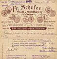 Rechnung von Fr. Schäfer Tübingen.jpg