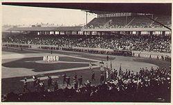 definition of grandstand