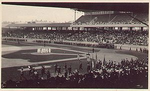 Grandstand - Image: Redland Field