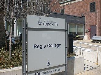 Regis College, Toronto - Image: Regis College, Toronto main entrance