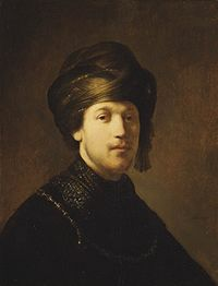Rembrandt - Young Man wearing a Turban.jpg