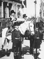 Repro foto P von Rosen, Rikshärolden t häst 1935 - Livrustkammaren - 1334.tif