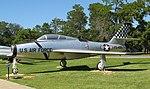 Republic F-84F Thunderstreak, USAF Armaments Museum, Eglin AFB, Florida (1).jpg