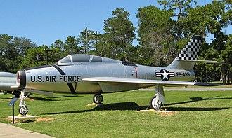 Air Force Armament Museum - Republic F-84F Thunderstreak, Air Force Armament Museum