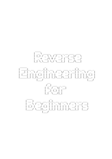 Reverse Engineering for Beginners book cover 2.png
