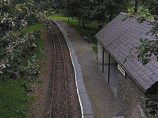 Rhydyronen railway station