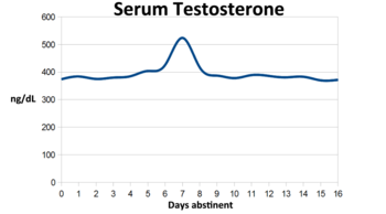 testosterone levels in gay males