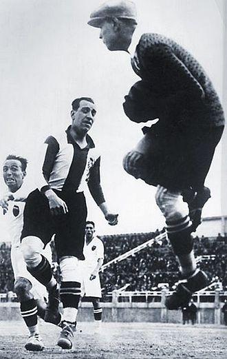 RCD Espanyol - Ricardo Zamora with Español