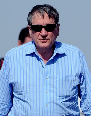 Richard Holbrooke - Holbrooke in Herat, Afghanistan, in August 2009 to be briefed by leaders of the coalition forces on the overall security of western Afghanistan.