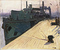 Richborough, 1917. A Cross-channel Ferry by John Lavery.jpg