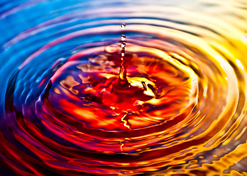 File:Ripple effect on water.jpg
