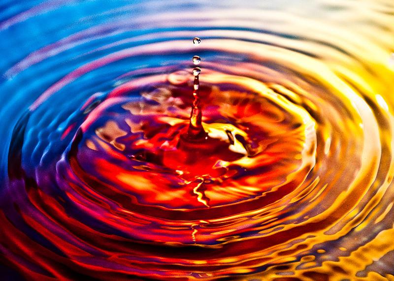 File:Ripple effect on water.jpg