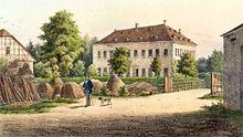 Sein Sterbeort – Gut Großstädteln (Quelle: Wikimedia)