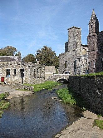 St Davids - Afon Alun in St Davids