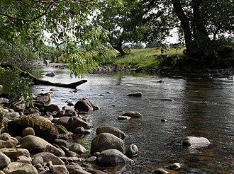 River Caldew - Caldew near to Welton