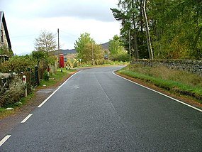 Road junction at Catlodge - geograph.org.uk - 1529138.jpg